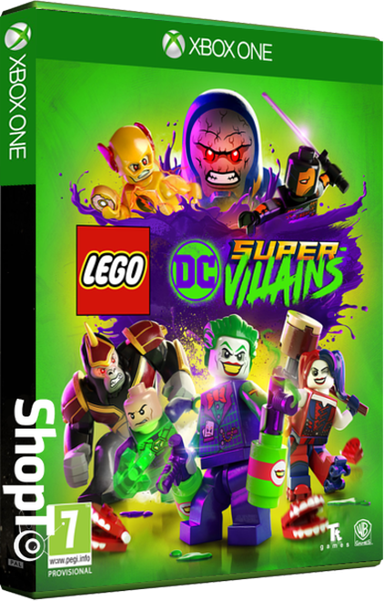 Lego DC Super Villains - Packshot