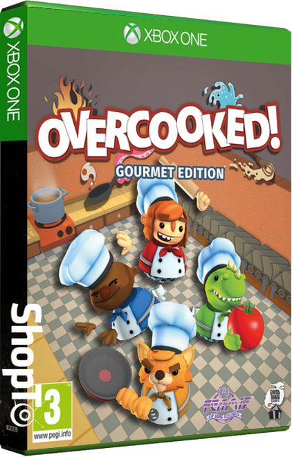 Overcooked Gourmet Edition Packshot