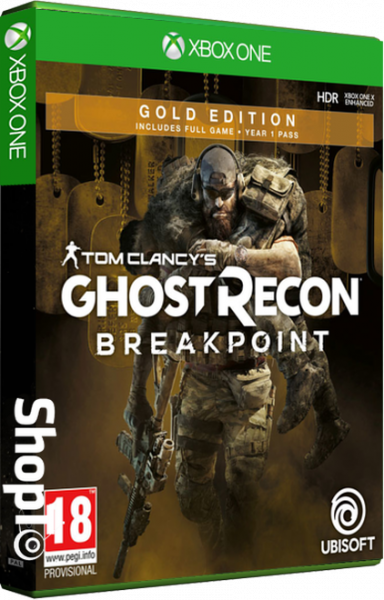 Ghost Recon Breakpoint - Gold Edition Packshot